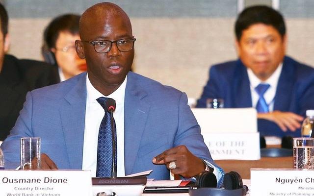Giám đốc Quốc gia Ngân hàng Thế giới tại Việt Nam ông Ousmane Dione.