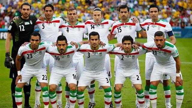 Iran không chỉ là đội có thể hình tốt hàng đầu châu Á, mà còn ở tầm thế giới