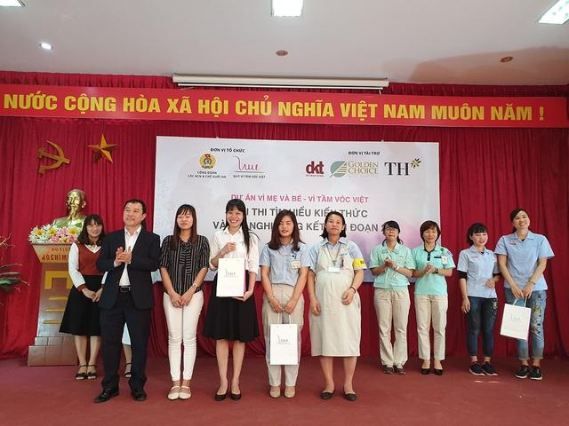 Hai giải nhì trị giá 2 triệu đồng/giải thuộc về Công ty Daiwa Plastic Thăng Long và Công ty Linh kiện điện tử SEI Việt Nam. Công ty Điện tử Asti Hà Nội và Công ty Yamaha Motor Việt Nam dành đồng giải ba với trị giá 1 triệu đồng/giải.