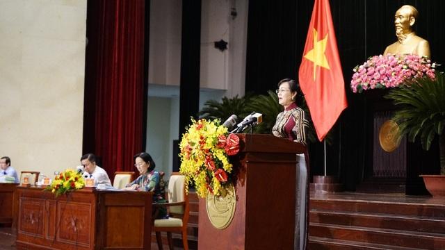 Chủ tịch HĐND TPHCM Nguyễn Thị Quyết Tâm cho rằng việc giải quyết khiếu nại về thu hồi đất còn chậm làm người dân bức xúc