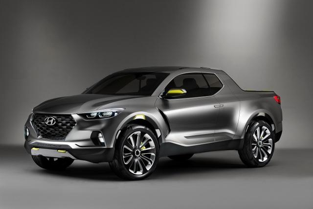 Chiếc concept bán tải Santa Cruz của Hyundai