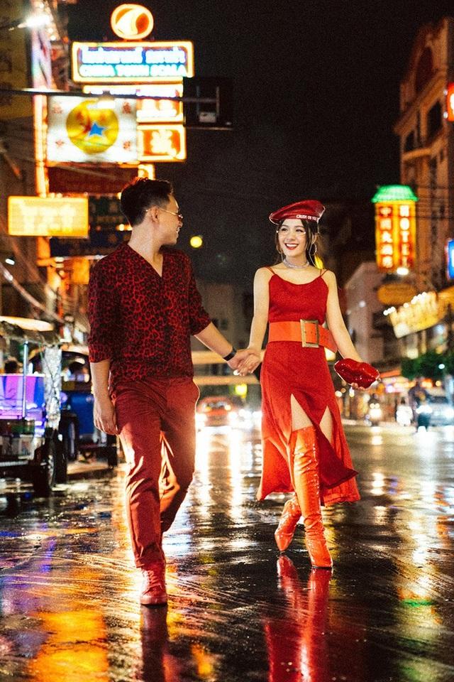 Chồng của Thu Giang hơn cô 7 tuổi, là một doanh nhân.