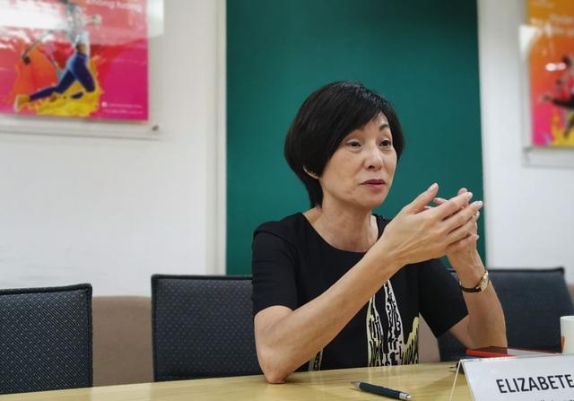Bà Elizabete Fong, Tổng giám đốc Vietnamobile