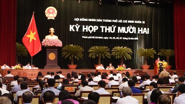 Dự kiến, kỳ họp HĐND TPHCM lần thứ mười hai diễn ra trong 4 ngày