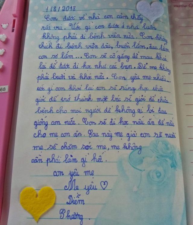 Những trang nhật ký đẫm nước mắt, viết những ước mơ của cô bé 9 tuổi