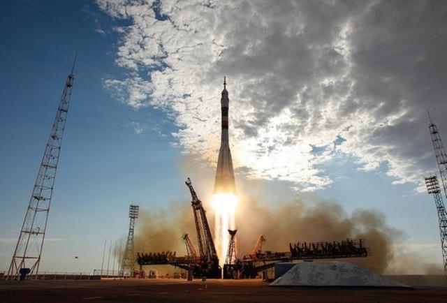 Một vụ phóng tên lửa Soyuz của Nga. Ảnh: Wiki Commons
