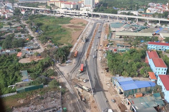 Cung đường Xuân Phương nhìn từ dự án Hateco Apollo