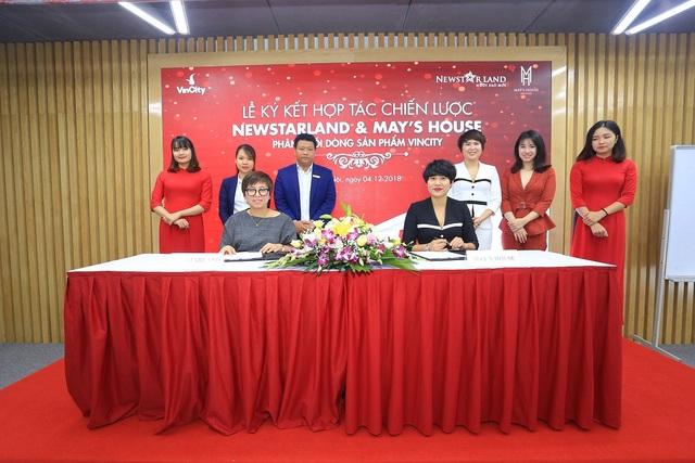 Newstarland và May's House ký kết hợp tác chiến lược phân phối dòng sản phẩm VinCity - 1