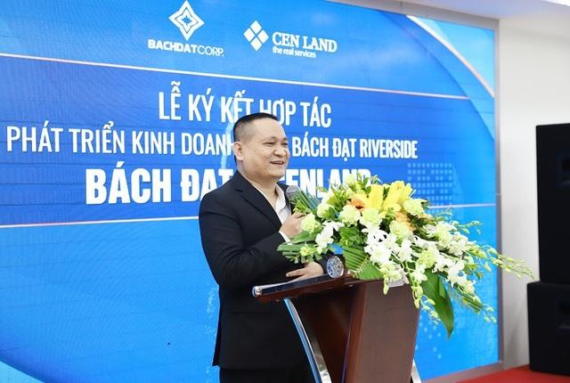 Đại diện chủ đầu tư Bách Đạt phát biểu tại sự kiện
