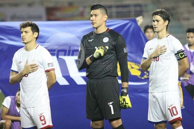 Philippines hy vọng thủ thành Neil Etheridge sẽ kịp trở lại ở trận đấu trên sân Mỹ Đình ngày 6/12