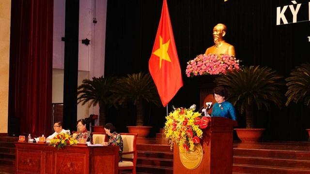 Chủ tịch Ủy ban MTTQ VN TPHCM Tô Thị Bích Châu đề nghị UBND, HĐND TP quan tâm vấn đề Khu đô thị mới Thủ Thiêm