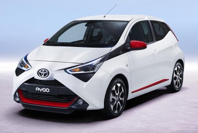 Mẫu Toyota Aygo