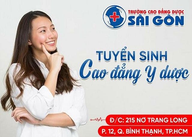 Trường Cao đẳng Dược Sài Gòn tuyển sinh Cao đẳng Y Dược năm 2019 - 1