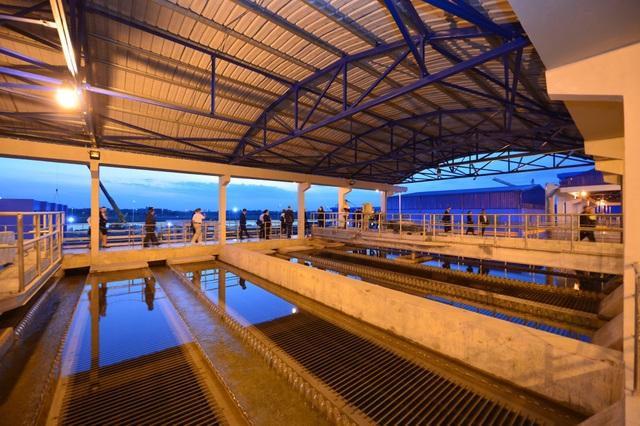 Nhà máy Nước mặt sông Đuống đang triển khai giai đoạn 2 nâng công suất lên 300,000 m3/ngđ vào tháng 10/2019