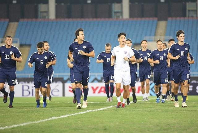 Đội tuyển Philippines tập kín ở Mỹ Đình, chờ quyết đấu Việt Nam - 5