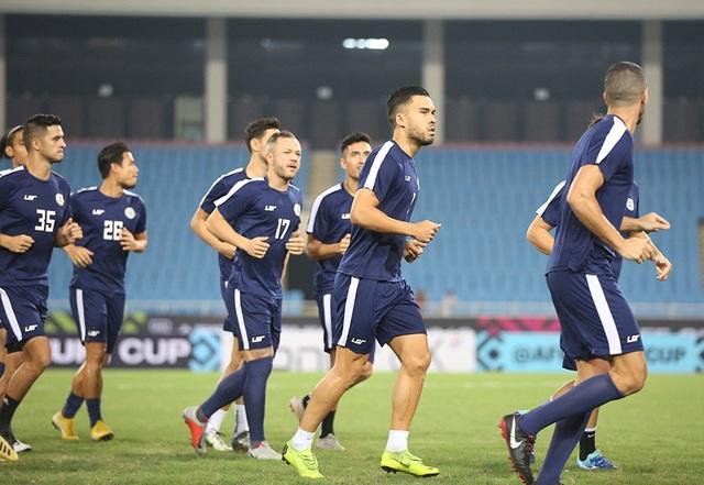 Đội tuyển Philippines tập kín ở Mỹ Đình, chờ quyết đấu Việt Nam - 4