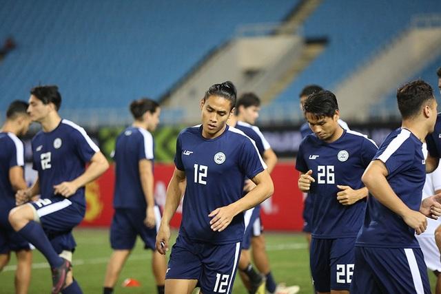 Philippines có bổ sung thêm một cầu thủ so với ngày hôm qua