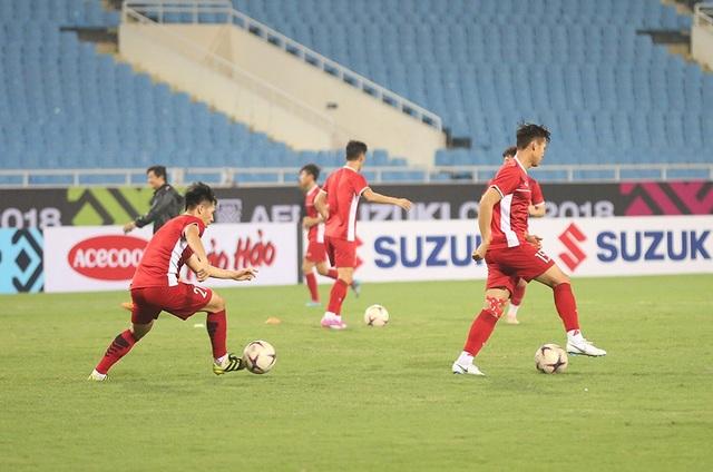 Đội tuyển Việt Nam đã sẵn sàng cho trận đấu ở Mỹ Đình ngày mai