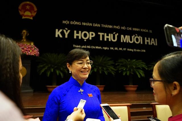 Sau ngày họp thứ 2, bà Quyết Tâm đã có những chia sẻ dành cho báo chí