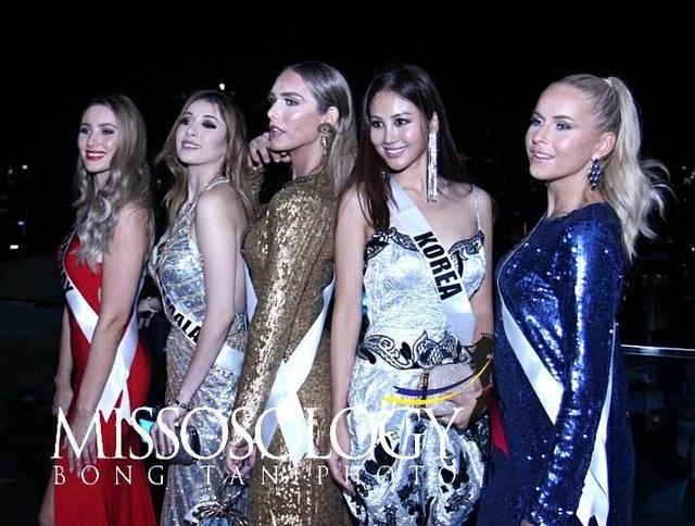 H'Hen Niê đọ sắc cùng các thí sinh Hoa hậu Hoàn vũ 2018 - 48
