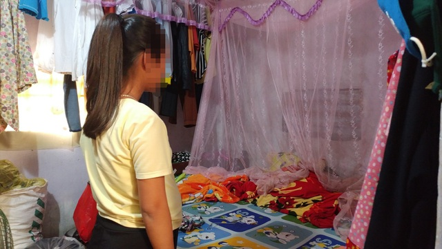 Cháu gái cho biết bị một thanh niên gần nhà hãm hại và đang mang thai hơn 7 tháng.