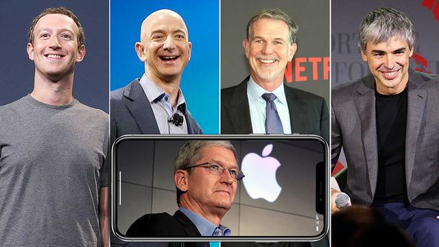 Cổ phiếu nhóm FAANG (Facebook, Amazon, Apple, Netflix, Google) đột ngột lao dốc, khiến thị trường bốc hơi 141 tỷ USD