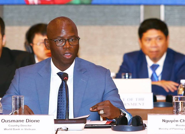 Ông Ousmane Dione - Giám đốc quốc gia Ngân hàng Thế giới (WB) tại Việt Nam