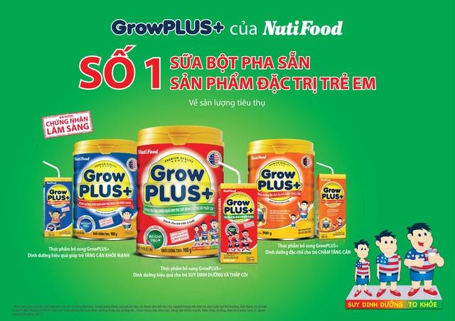 Grow Plus+ được chứng nhận đứng đầu ngành sữa đặc trị - 3