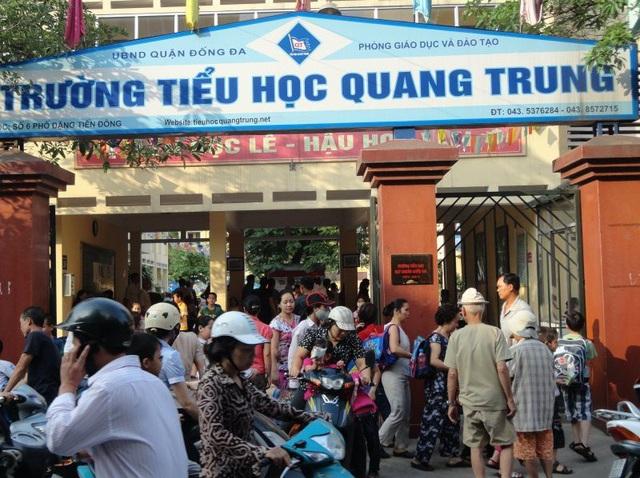 Trường tiểu học Quang Trung, Hà Nội.