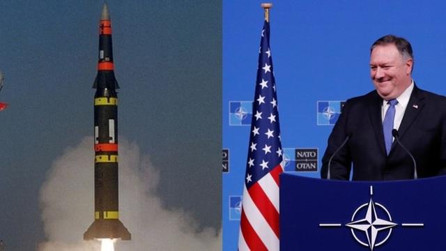 Mỹ cảnh báo rút khỏi INF sau khi cáo buộc Nga vi phạm hiệp ước. (Ảnh minh họa: Reuters)