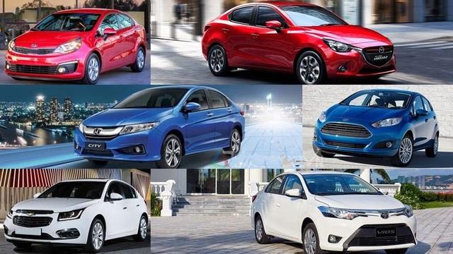 Một số mẫu xe hạng B dự báo giá sẽ giảm (ảnh minh họa).