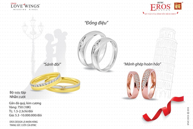 Tại đây chúng tôi có đầy đủ các mặt hàng: Nhẫn tròn trơn và vàng miếng Vàng rồng Thăng Long, trang sức vàng tây, vàng ta, kim cương, đá ngọc quý thiên nhiên, trang sức bạc chất lượng cao, chế tác tinh xảo, phù hợp xu hướng thời trang quốc tế.