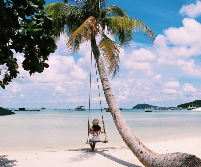Thiên đường nghỉ dưỡng dành cho du khách dịp tháng 12. Ảnh: Trần Lan