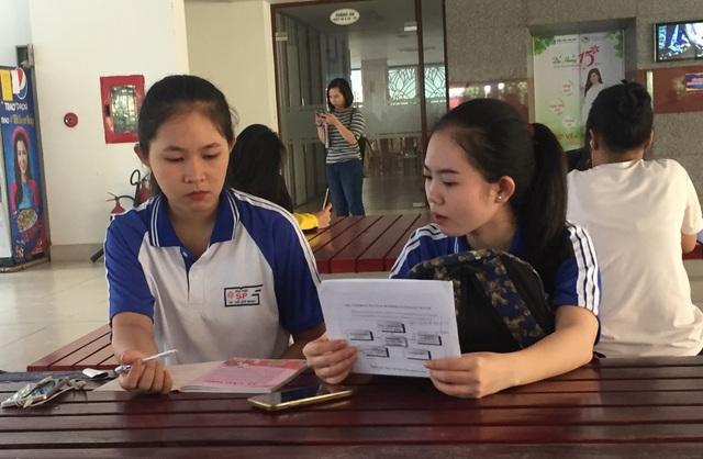 Sinh viên đang theo học tại trường ĐH Sư phạm TPHCM