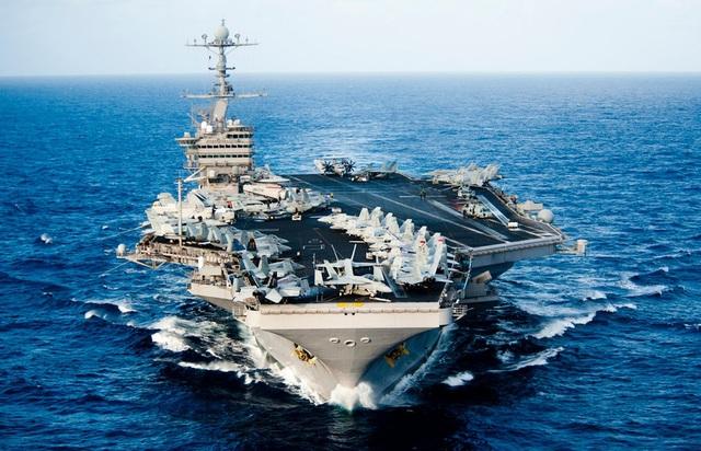 Tàu sân bay USS John C. Stennis của Mỹ. (Ảnh: US Navy)