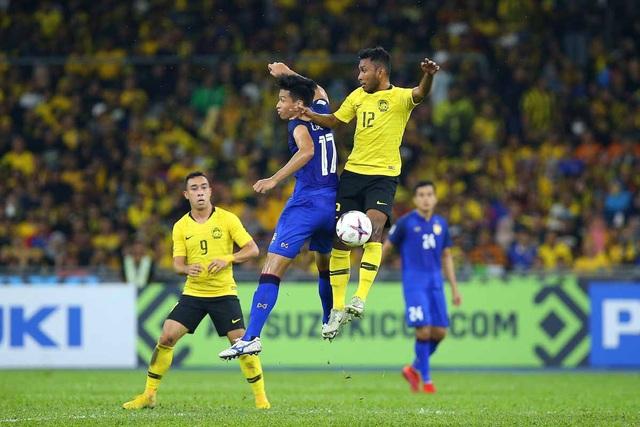 Malaysia và Thái Lan đã hòa nhau 0-0 ở trận bán kết lượt đi tại Bukit Jalil