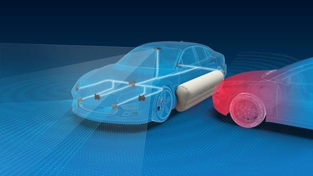 Túi khí bên ngoài xe có thể giảm 40% chấn thương - 1