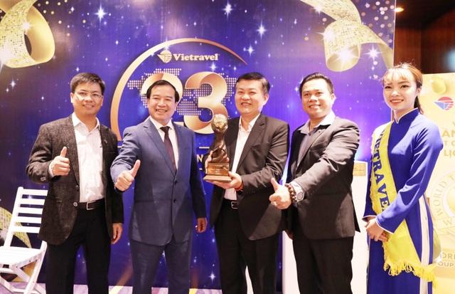 "Vietravel lần thứ hai nhận danh hiệu ""World's leading group tour operator"" - 1"