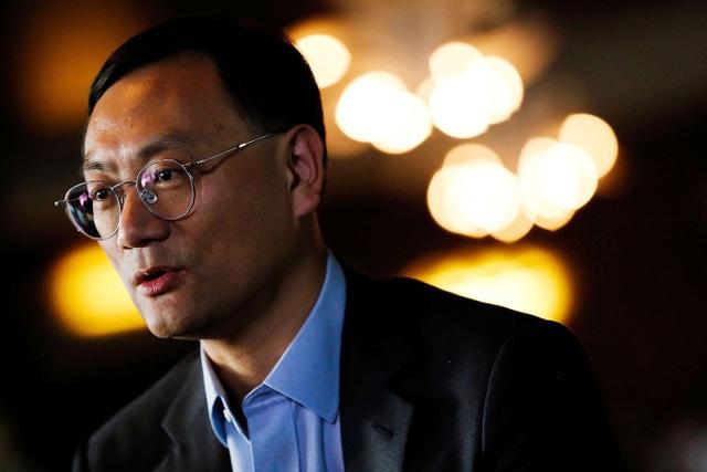 Ông Zhang Dazhong, giám đốc điều hành của Alisports.