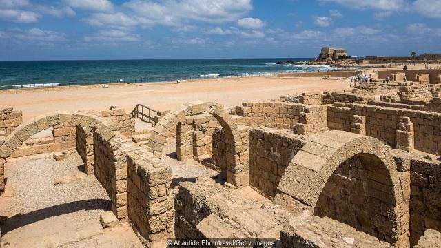 Thành phố Caesarea ở Israel nhiều lần bị xâm lược