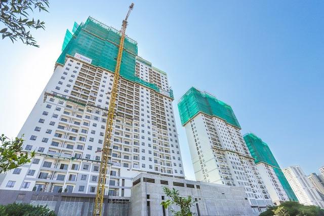 Cả 3 tòa Centro, Novo và Metro đều thi công đảm bảo tiến độ, chất lượng