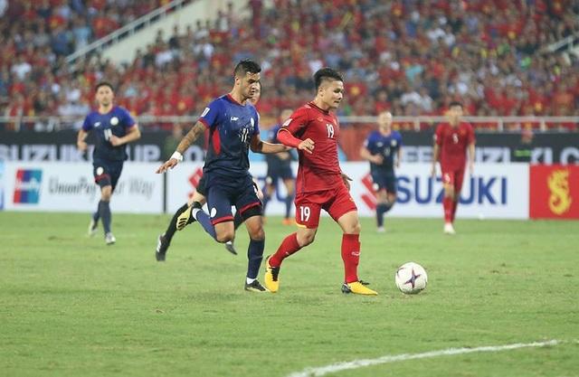 Việt Nam thắng Philippines cả hai trận bán kết ở AFF Cup 2018