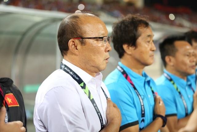 HLV Park Hang Seo và ban huấn luyện Việt Nam
