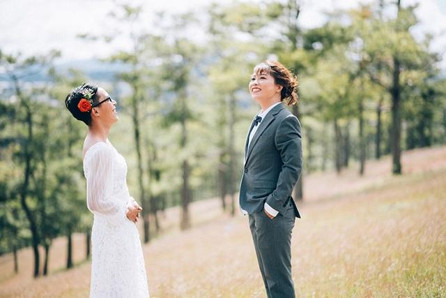 """Ảnh cưới hoán đổi vị trí cô dâu – chú rể của cặp đôi tính cách """"ngược chiều"""" - 8"""