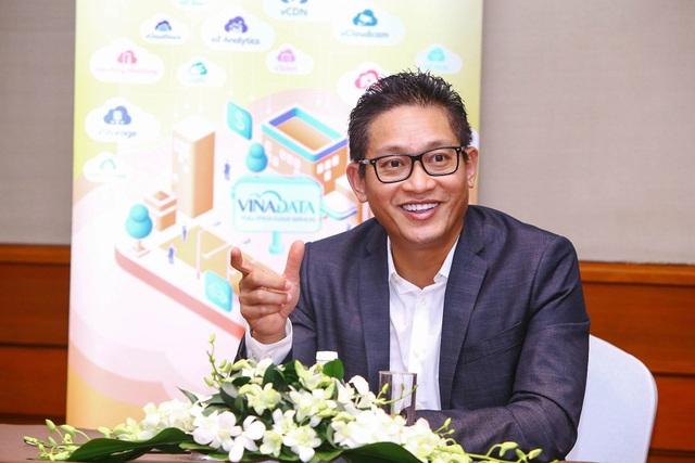 Ông Vũ Minh Trí, Phó TGĐ VNG phụ trách Điện toán Đám mây kiêm Tổng GĐ VinaData.
