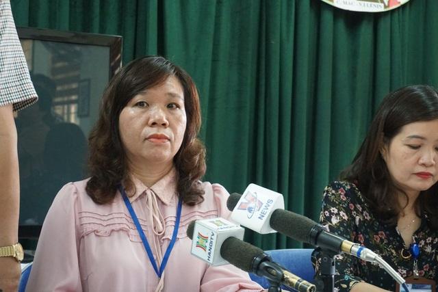 Hiệu trưởng nhà trường Lê Anh Vân cho biết, chưa xác định được học sinh P. bị bao nhiêu tát.