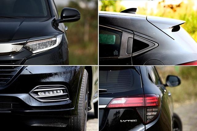 Mẫu miniSUV HR-V tiếp tục phát huy thế mạnh của Honda với sự hào phóng về hệ thống chiếu sáng