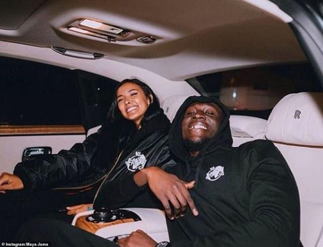 Maya Jama hiện đang hẹn hò với Rapper nổi tiếng Stormzy.
