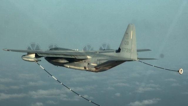 Máy bay tiếp dầu KC-130 (Ảnh: Reuters)