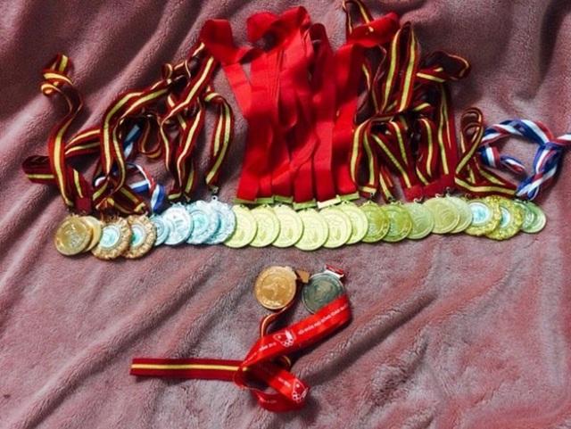 Bộ sưu tập huy chương của Minh Anh